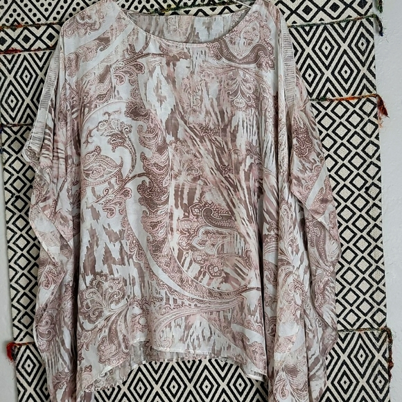 Chico's Printed Blouse